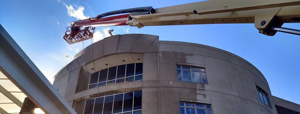 Elite Power Washing Commercial Building Cleaning